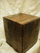 Hammered Copper Table Base